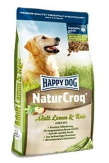 Happy Dog Natur Croq Lamb&Rice 15kg +3kg zdarma