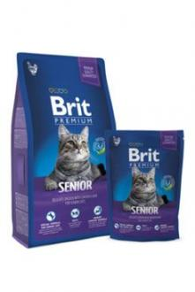 Brit Premium Cat Senior 300g NEW + kapsička zdarma