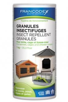 Francodex Granule repelentní in+out 1kg