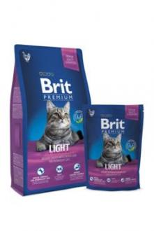 Brit Premium Cat Light 300g NEW + kapsička zdarma
