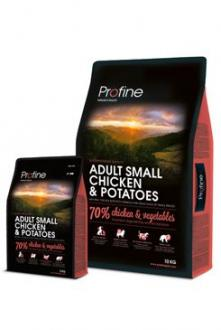 Profine NEW Dog Adult Small Chicken & Potatoes 10 kg +2kg zd