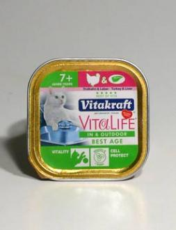 Vitakraft Cat konz. Vita L.  Indoor - Best Age 100g