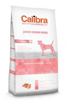 Calibra Dog HA Junior Medium Breed Chicken  14kg NEW