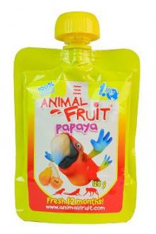 ANIMAL FRUIT kaps. papoušci Papaya 120g Syrio