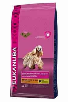Eukanuba Dog Adult Weight Control Medium 3kg