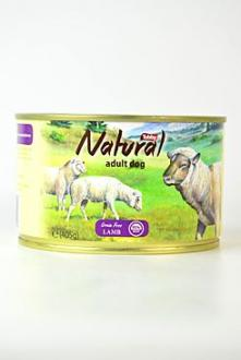 TOBBY konz. Natural Lamb 405g
