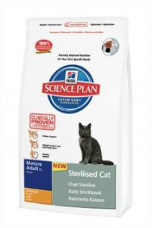 Hill´s Feline Dry Adult Mature 7+ Sterilized 1,5kg