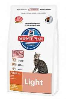 Hill´s Feline Dry Adult Light  1,5kg