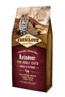 Carnilove Cat Reindeer for Adult Energy & Outdoor 6kg