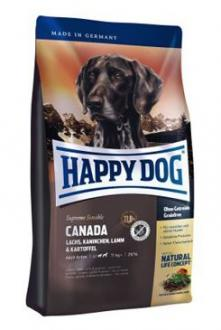 Happy Dog Supreme Sensible CANADA los,král,jehn 4kg