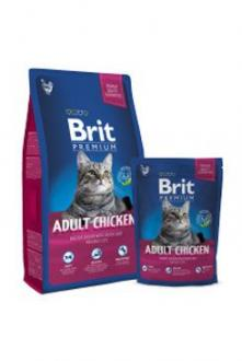 Brit Premium Cat Adult Chicken 8kg NEW