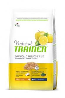 Trainer Natural Small Toy Adult kuře Rýže 7kg