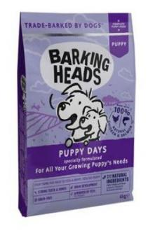 BARKING HEADS Puppy Days NEW 1kg