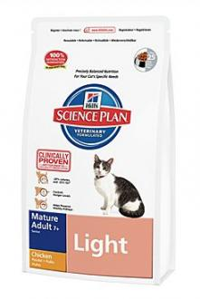 Hill´s Feline Dry Adult Mature Light Chicken 1,5kg