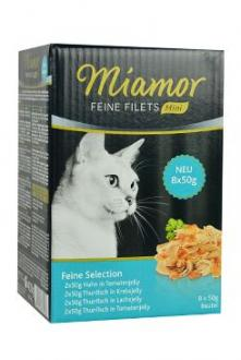 Miamor Cat Feine Filets Select kapsa Multi,4x2x50g