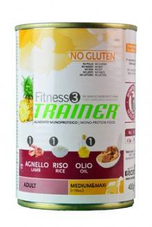 Trainer konzerva Fitness Adult MedMax Lamb Rice 400g