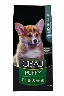 CIBAU Dog Puppy Medium 12kg + 2kg zdarma