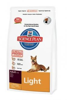 Hill´s Canine Dry Adult Light  3kg
