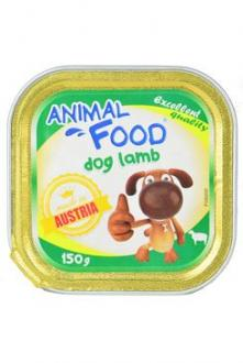ANIMAL FOOD 150g konz.paštika pes jehněčí
