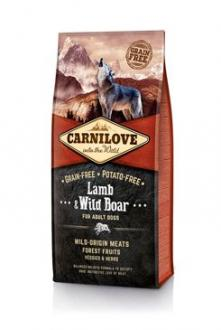 Carnilove Dog Lamb & Wild Boar for Adult  NEW 12kg