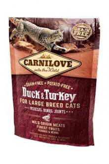 Carnilove Cat LB Duck&Turkey Muscles,Bones,Joints 400g