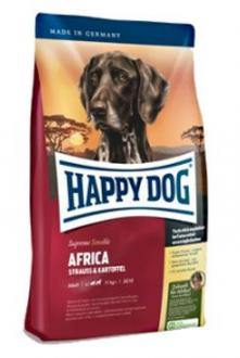 Happy Dog Supreme Sensible AFRICA pštros 1kg