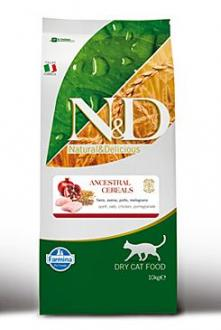 N&D LG CAT Adult Chicken & Pomegranate 10kg