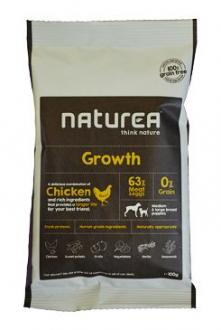 Naturea GF dog Growth - Puppy all breeds 100g