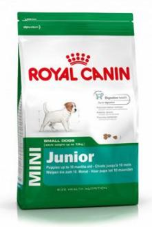 Royal canin Kom. Mini Junior 7+1kg