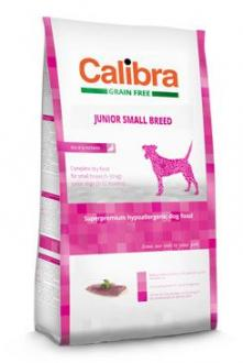 Calibra Dog GF Junior Small Breed Duck  2kg NEW