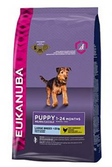 Eukanuba Dog Puppy&Junior Large 15kg