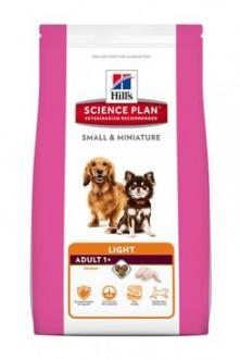 Hill´s Canine Dry Adult Small Miniature Light 1,4kg