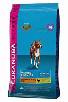 Eukanuba Dog Mature&Senior Medium  3kg