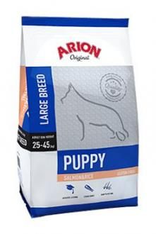 Arion Dog Original Puppy Large Salmon Rice 12kg