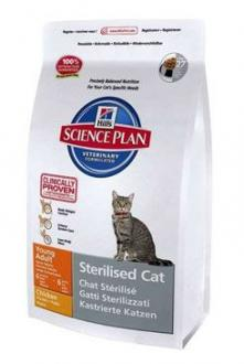 Hill´s Feline Dry Adult Young Sterilized Chicken 8kg