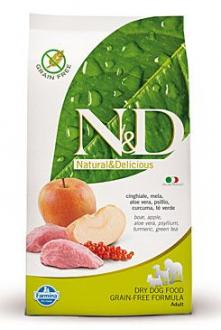 N&D GF DOG Adult Boar & Apple 2,5kg