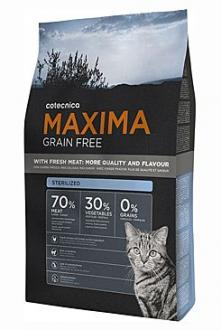 Maxima Cat Grain Free Adult Sterilized  1kg