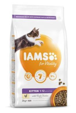 Iams Cat Kitten Chicken 10kg