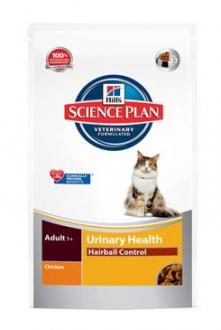 Hill´s Feline Dry Adult Urinary Hairball Control 1,5kg