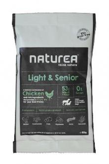 Naturea GF dog Light&Senior- all breeds 100g