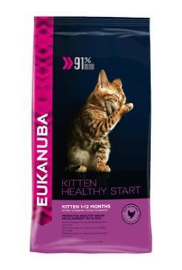 Eukanuba Cat Kitten Healthy Start Chicken 4kg Doprodej!