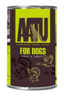 AATU Dog Duck n Turkey konz. 400g