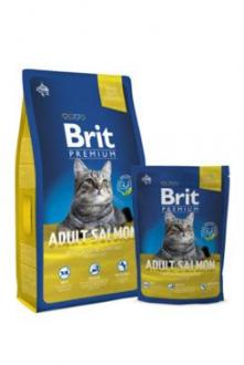 Brit Premium Cat Adult Salmon 1,5kg NEW