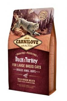 Carnilove Cat LB Duck&Turkey Muscles,Bones,Joints 2kg