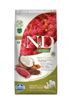 N&D GF Quinoa DOG Skin&Coat Duck & Coconut 7kg