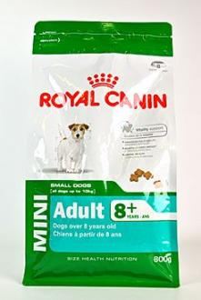 Royal canin Kom. Mini Adult 8+ 800g