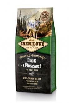 Carnilove Dog Duck & Pheasant for Adult  NEW 12kg